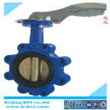 Lug Type EPDM Sealing Butterfly Valve with Handle, Rubber Liner Bct-Lt-02