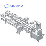 Wafer Biscuit Automatic Flow Packing Machine Food Package Line Automatic Packaging Machine