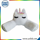 Cute Animal Plush Soft Big Unicorn Toy Stuffed Unicorn Neck Roll Reading Pillow