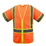 Hi-Vis Reflective Safety Vest Warning Workwear Jocket