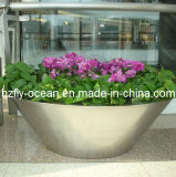 Outdoor Stainless Steel Plaza Planter (FO-9013)