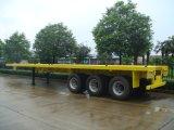 Sinotruk Huawin Flatbed Container Semi Trailer 3 Axle