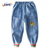 Autumn 2020 New Casual Children′s Big Pocket Jeans
