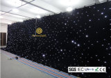 Disco Wedding Party Backdrop LED Twinkling Star Curtain