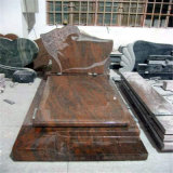 Multicolor Red Polished Granite Monument