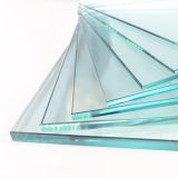Thick Toughened Glass Stained Glass for Office/ Shower Room Door/Fence/Stairs