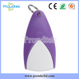 Plastic RFID Fob Custom Key Tag with Laser Number