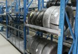Display Tire Racking for Automotive Fittings