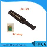 Gc1001 Smaller Size Hand Held Metal Detector with Signal Indicator