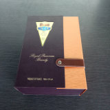 Good Quality Good Price Brand Supplier Gray Paper Custom Wine Box with Spacialpaper Logo Stamping