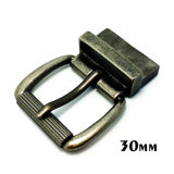 High Quality Metal Zinc Alloy Roller Buckle Pin Belt Buckle for Dress Belts Garment Shoes Handbags (XWS-ZD152)