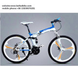 26'' Inch Cheap Aluminum Alloy One Piece Wheel Fat Bicycle Folding Road Mountain Bike