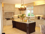 New Design Solid Wood Kitchen Cabinets #11224