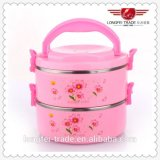 Two Layers Fashion Heat Preservation Lunch Box