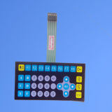 Stock Membrane Switch Keyboard