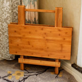 Bamboo Folding Table for Dining Room