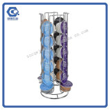 Rotation Hot Sale Iron Wire Coffee Capsule Holder Rack