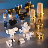 Good Price Pneumatic Fitting Plastic and Brass Material