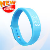 2016 New Arrival Smart Bracelet 3D Sensor Pedometer Healthy Tracker Silicone Smart Bracelet Sleep Monitoring Calorie-Burning Smart Reminder Step Gauge Watches