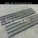 Grating Cover for Polymer Edge Drain Trench