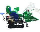 New Design Factory Price Good Quality Caterpillar Wheels Rice Combine Harvester