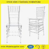 Furniture Polcarbonate Clear Resin Banquet Tiffany Chiavari Chair