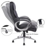 Best Office Ergonomic PU Leather High Back Office Chair (LSA-014BK)