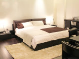 2016 New Collection Divany Modern Furniture Bed a-B35 Solid Wood Bed Hot Sales Bed Modern Style Bed Bedroom Furniture Bed