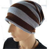Wholesale Plain Men Ski Knit Beanie Hat Warm Winter Cap