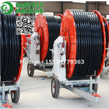 Hose Reel Irrigation System for Watering Farm Land