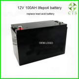 Energy Storage Li-ion Battery Pack 12V 100ah 200ah Power Supply for LED Light