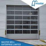 New Design America Market Prices Safety Aluminum Glass Garage Door