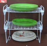 Kitchen Folder Metal Wire Powder Coated Storage Shelf