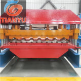 Cheap Metal Glazed Roof Tile Roll Forming Machine for Sale