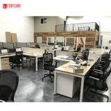 Canada Commercial Furniture Custom Made Adjustable Office Workstation Cubicle Desk Table Wood Design