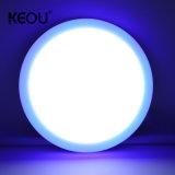 24W SMD2835 Round 2700K 7000K Multi Double Color 18W+6W LED Frameless Panel Light