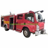 Isuzu 700p Euro4 Euro5 3000liters 4000liters Water Foam Fire Truck Price for Sale