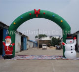 New Design Customized Christmas Decorating Inflatable Entrance Arch