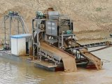 2019 100m3/Hour Bucket Chain Gold Dredger for Selecting and Panning Gold