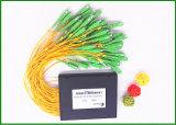1X64 Ports Fiber Optic Cable Splitter 100cm / PLC Splitter Module