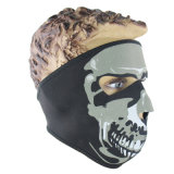 Full Face Ghost Wind Proof Veil Racing Face Mask (AM045)