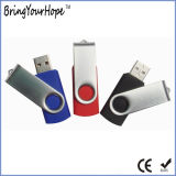 Popular Metal Swivel USB Flash Drive Pen Drive (XH-USB-001)