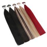 Cheap Wholesale Double Drawn Virgin Russian Hair Flat Tip Hair Extensions