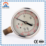 Gas Pressure Meter Professional Manufacturer Oil Filled Natural Gas Pressure Gauge