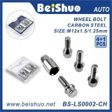 4+1PCS Harden Groove Wheel Bolt as Auto Part