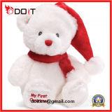 Safety Christmas Gift Decoration Santa Stuffed Soft Plush Bear Toy
