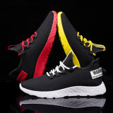Factory Wholesale Cheap Promotion Men Sports Shoes Black Sneaker