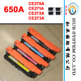Printer Toner, Color Laser Cartridge for HP CE270A (650A) CE271A/CE272A/CE273A