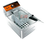 Open Poultry Stir Kitchen Bean Machine Fryer (ZM-FR1)