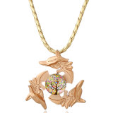 New Design Fashion King of Li Bai Fidget Spinner Pendant Jewelry Necklace